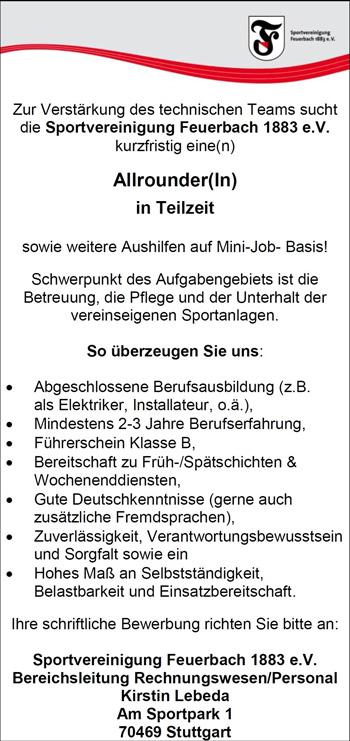 Feuerbach.De - Angebot
